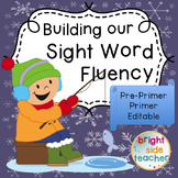 Sight Word Fluency with Winter Sports Movements