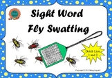 Sight Word Fly Swatting game - Dolch Lists 1 and 2