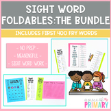 Sight Word Foldable Bundle: First 400 Fry Words