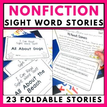 Sight Word Stories Bundle - Fiction and Nonfiction