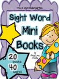 Sight Words Foldable Mini Books