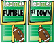 Sight Word Football (Dolch Pre-Primer-Grade 3)