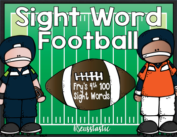 Sight Word Football (Fry's 4th 100)