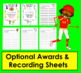 Football Sight Word Literacy Center FREEBIE!