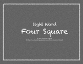 Sight Word Four Square
