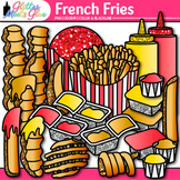 French Fries Clip Art {Food & Nutrition Graphics, Great fo