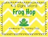 Sight Word Frog Hop