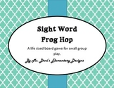 Sight Word Frog Hop - A Life-Sized Game