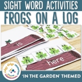 Sight Word Frogs on a Log Game