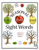 Sight Word Fun Trees and the Seasons. Literacy is always in season.