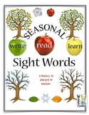 Sight Word Fun Trees and the Seasons. Literacy is always i