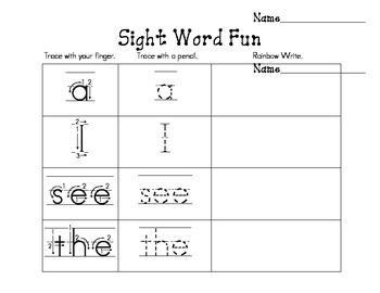 Sight Word Fun BUNDLE