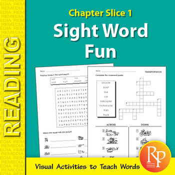 Sight Word Fun: Chapter Slice 1
