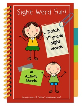 Sight Word Fun!  Dolch 1st Grade