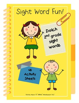 Sight Word Fun!  Dolch 2nd Grade