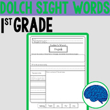 Sight Words Fun! | First Grade Dolch Words