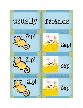 Bundled! Sight Word Fun Games: Zip! Zap! Sets 1 - 24