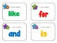 Sight Word Fun: Literacy Station Task Cards