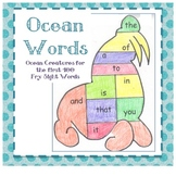 Sight Word Fun: Ocean Animals for the top 400 Sight Words