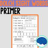 Sight Words Fun! | Primer Dolch Words