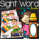 Sight Word Fun Quiz the Bundle