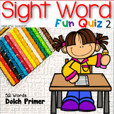 Sight Word Fun Quiz Primer