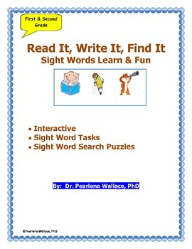 Reading: Sight Word Fun Activities Puzzles & Task Cards