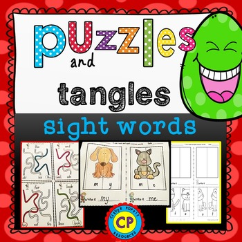 Sight Word Fun with Puzzles and Tangles