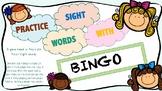 Sight Word Game (Bingo) FRY 100