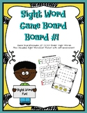 Sight Word Game Board #1