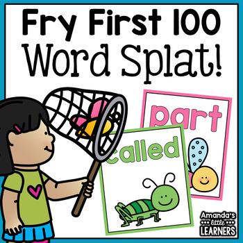 Sight Word Game - Bug Splat