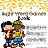 Sight Word Game Bundle