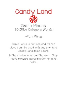 Sight Word Game Bundle (Aligned to 2G Category Words)