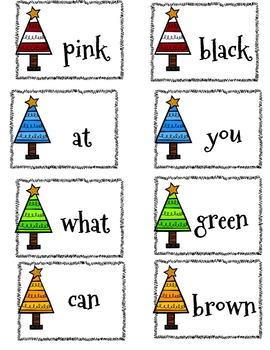 Sight Word Game {Christmas}
