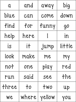 Sight Word Game- Christmas Low Prep!