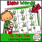 Sight Word Game – Christmas TicTacToe!