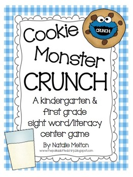 Sight Word Game: Cookie Monster CRUNCH!