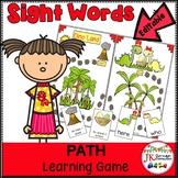 Sight Word Game - Dino Land {EDITABLE}