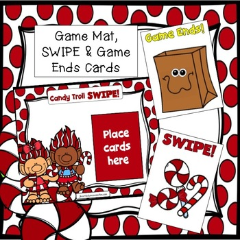 Sight Word Game FREEBIE: Candy Troll SWIPE
