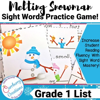 Sight Words Flashcards Game | First Grade List