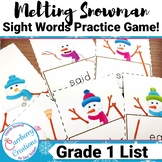 Sight Word Game | First Grade List