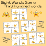 Sight Words Game Third Hundred words