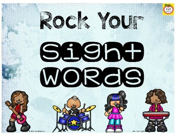 Sight Word Game - Get Up and Move!