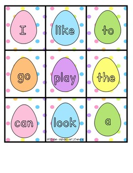 Sight Word Game-HOP!