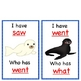 Sight Word Game-I Have, Who Has