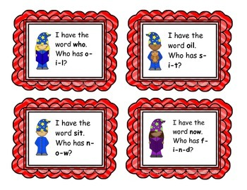 "Sight Word Game: ""I Have, Who Has"" (Fry List 4)"