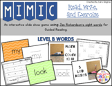 Sight Word Game - Jan Richardson Level B Sight Words