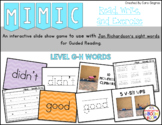Sight Word Game - Jan Richardson Level G-H Sight Words