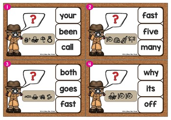 Dolch Sight Words Game: Let's Break the Code (Grade 2)