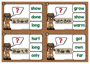 Sight Words Game: Let's Break the Code (Dolch Grade 3)